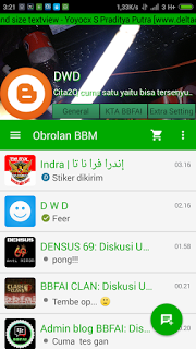 BBM MOD Multi versi terbaru 3.0.1.25 APK dan versi Lama