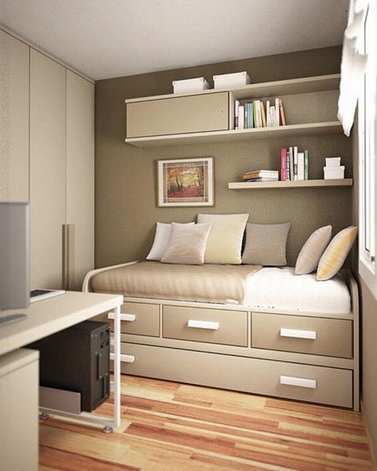 20 desain kamar tidur minimalis ukuran 3 4