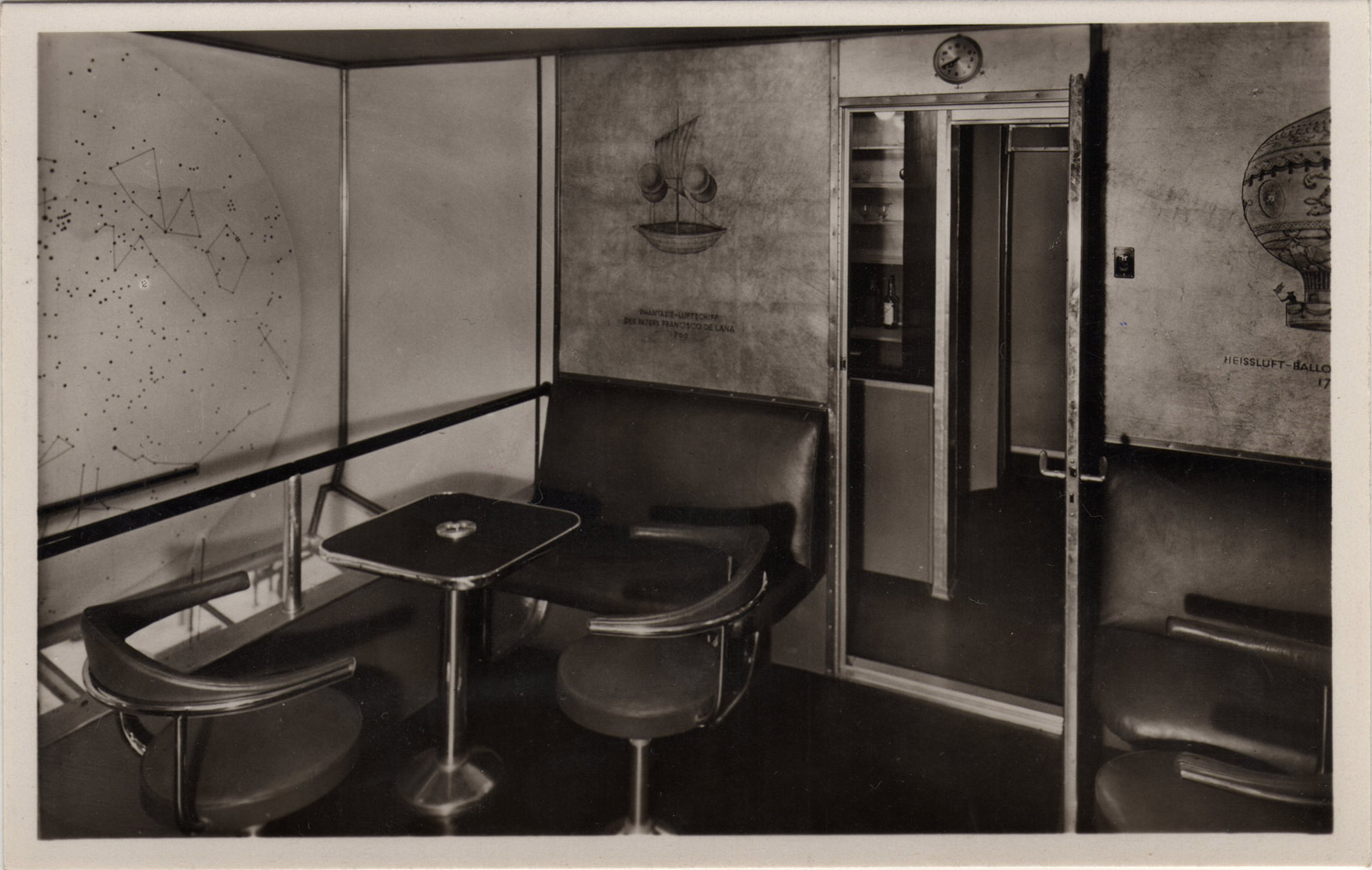 inside the hindenburg rare vintage photographs reveal what luxury air travel was like in the. Black Bedroom Furniture Sets. Home Design Ideas
