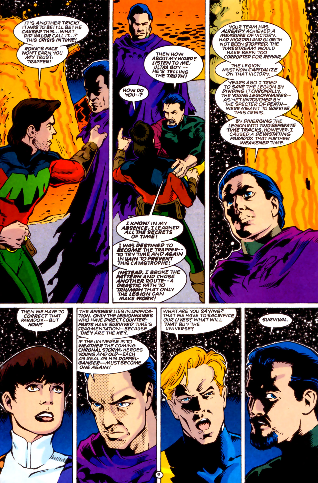 Legion of Super-Heroes (1989) 61 Page 9