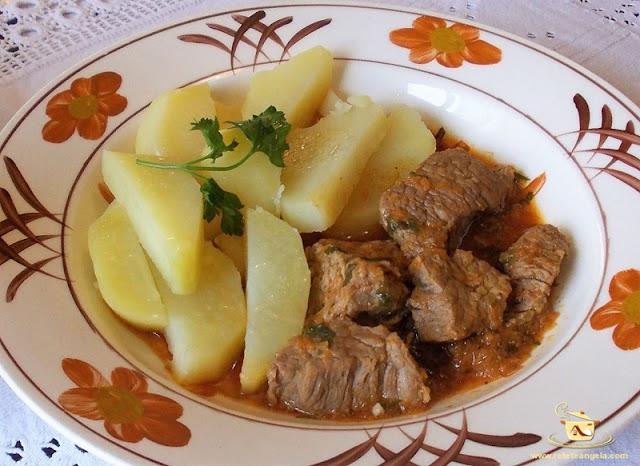Reteta tocanita de vitel,tocanita de vitel traditionala