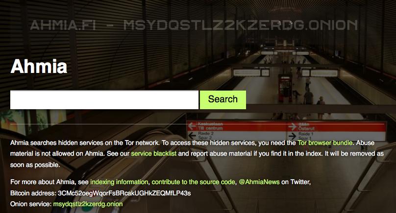 Ahmia Search Engine | Add Url