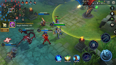 arena of valor game play