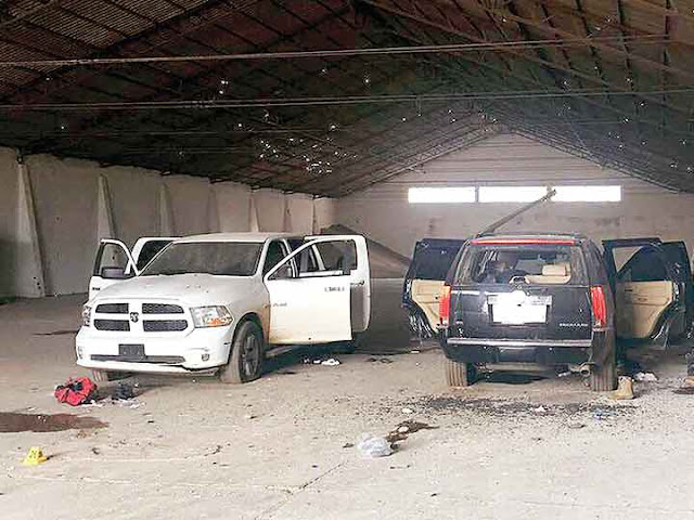 Así fue el topón de La Línea( Cártel de Juarez) vs Cártel de Sinaloa donde murieron 15 sicarios un helicóptero sobrevolo las varas