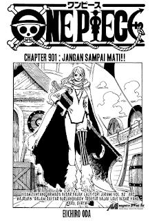 Komik One Piece – Chapter 901 : Walaupun Kau Sekarat, Janganlah Mati