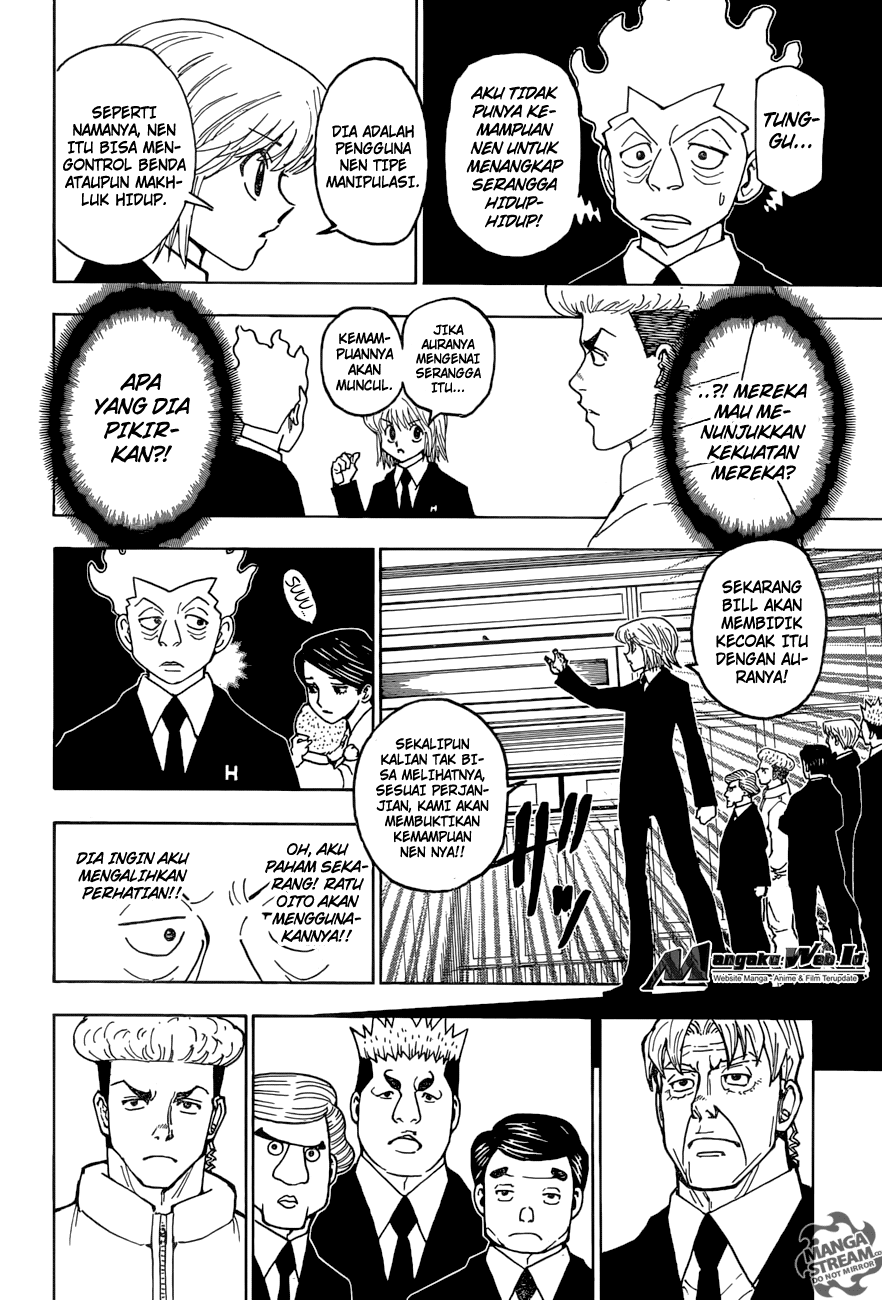 Hunter X Hunter – Chapter 367 : Singkronisasi