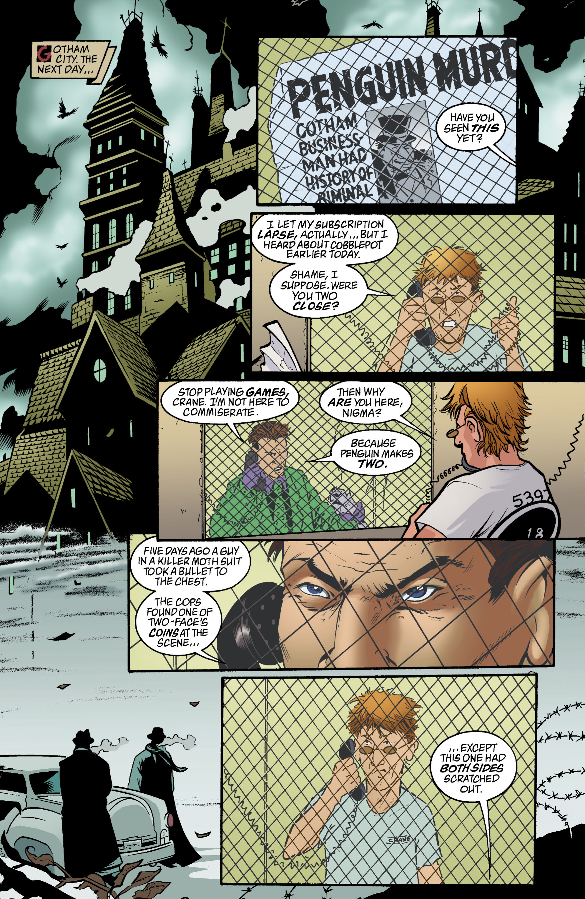 Detective Comics (1937) 779 Page 1