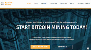 How to make money online at Genesis Mining
