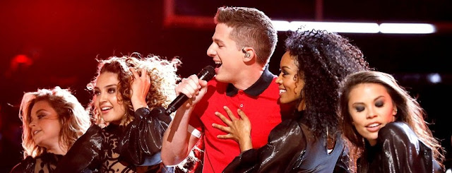 SPECIAL PERFORMANCE OF CHARLIE PUTH 'ATTENTION' IN THE VOICE 2017