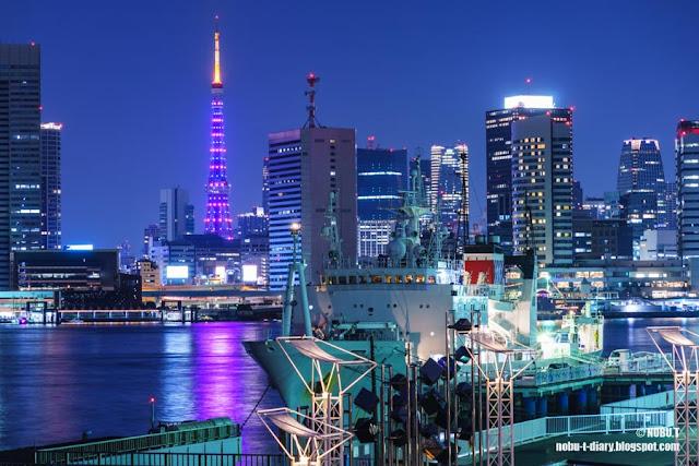 東京タワー「パープルイメージ」ダイヤモンドヴェール