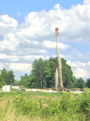 fluids spewing out of Coitsville, Ohio injection well