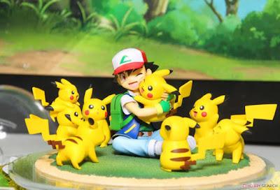 Satoshi & Pikachu GEM