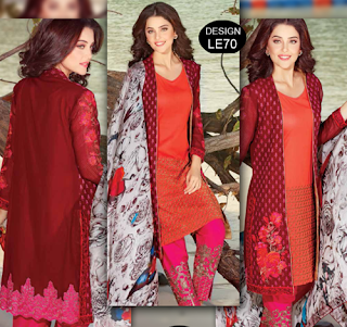Charizma Embroidered Swiss Voil Vol-1 2016-17