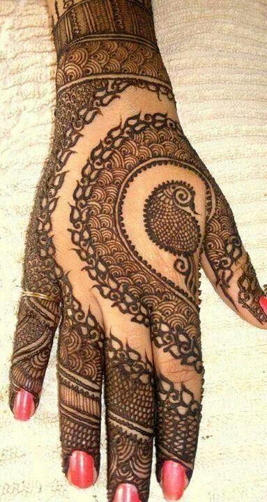 Modern Henna Designs: Best Latest Modern Henna Designs