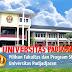 Pilihan Fakultas dan Program Studi UNPAD  - D3, S1, S2, S3