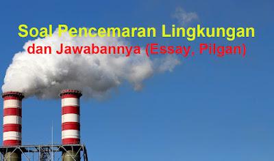 Soal Pencemaran Lingkungan Jawabannya Essay