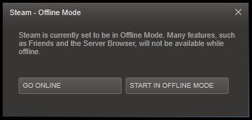 Steam Server Offline