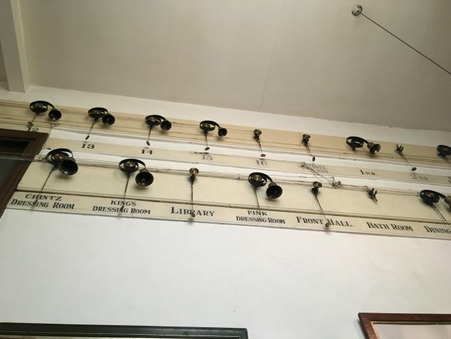 servants-bells-labelled-chintz-dressing-room-kings-bedroom-library-pink-dressing-room-front-hall-bath-room