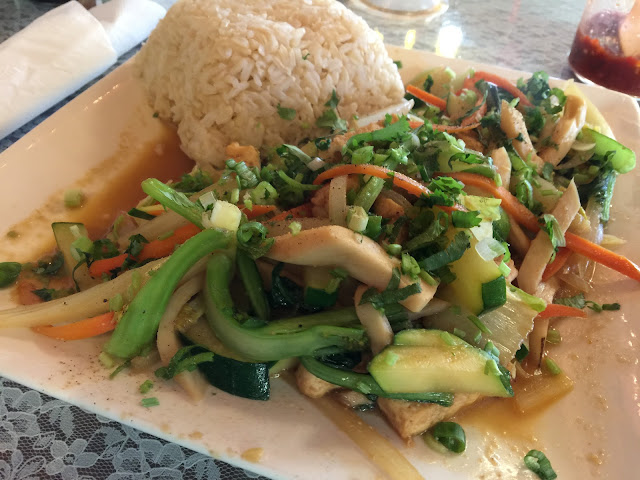 Vegetarian Stir Fry at An Hy Quan in Albuquerque