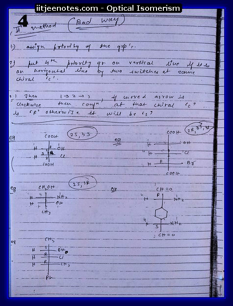 Optical Isomerism 4