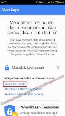 cara ganti password gmail lewat hp android