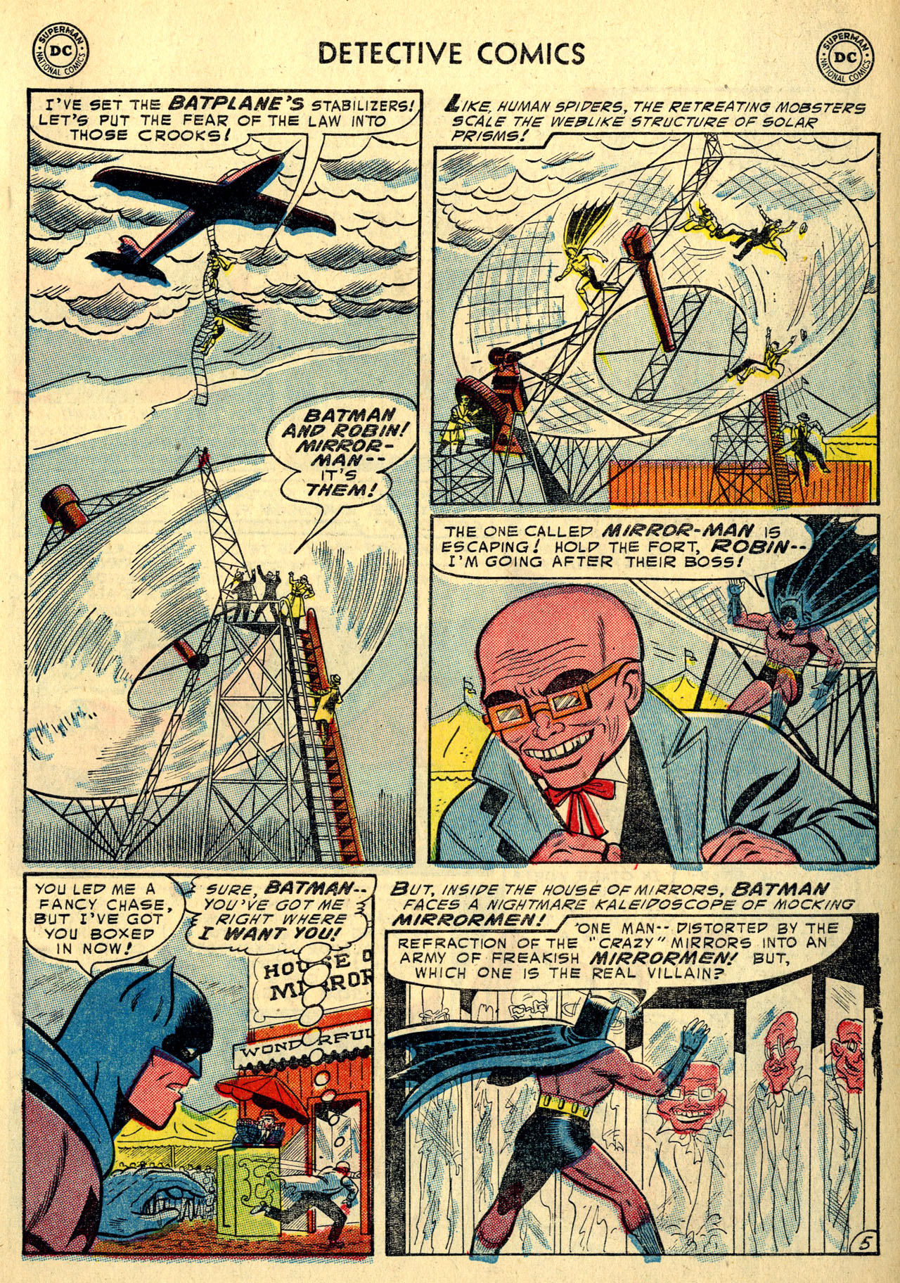 Read online Detective Comics (1937) comic -  Issue #213 - 7