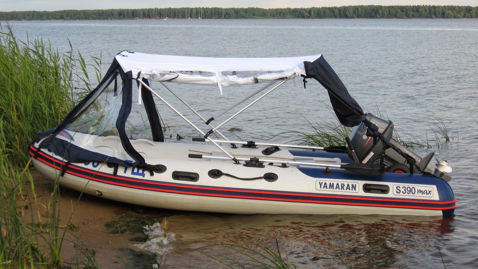 тюнинг на лодки ямаран