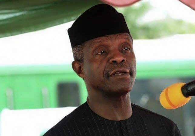 Image result for Jonathan's administration plunged Nigeria into debt – Osinbajo