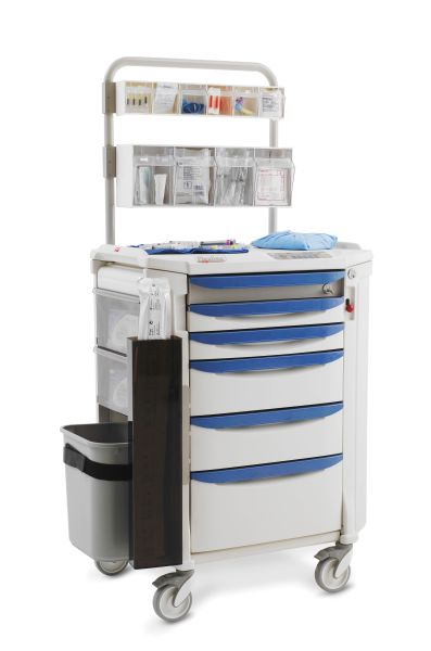 Metro Shelving Products Flexline Anesthesia Cart