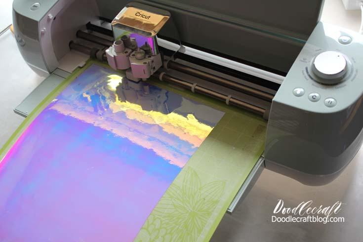 Doodlecraft Watercolor Vinyl Calligraphy Cricut Explore Air - How to make vinyl wall art with cricut