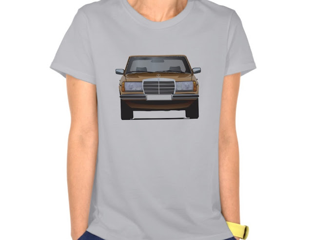 Golden MB W123 t-shirts