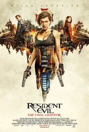 Watch Resident Evil: The Final Chapter Online Free 2016 Putlocker
