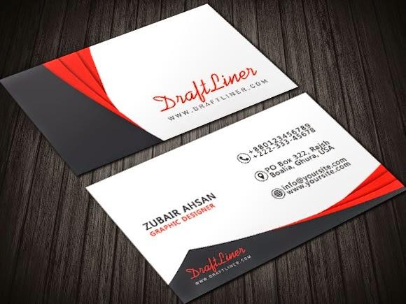 10 Desain Template Kartu Nama Gratis (PSD File) | b-duu ...