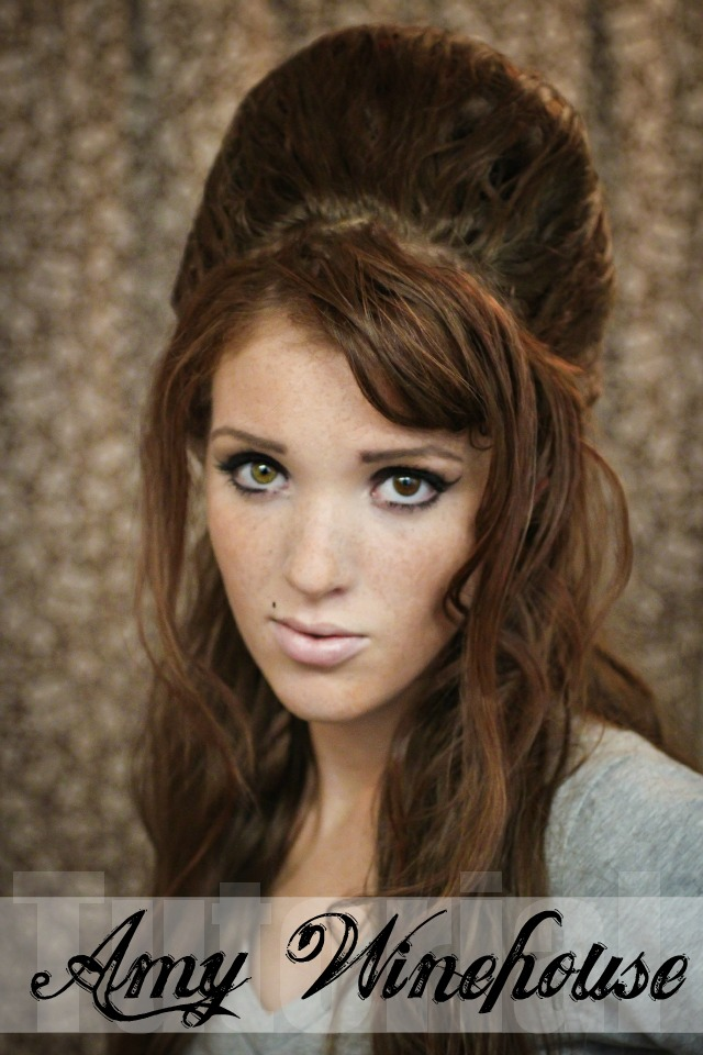 Excellent The Freckled Fox Hair Tutorial Amy Winehouse Beehive Short Hairstyles For Black Women Fulllsitofus