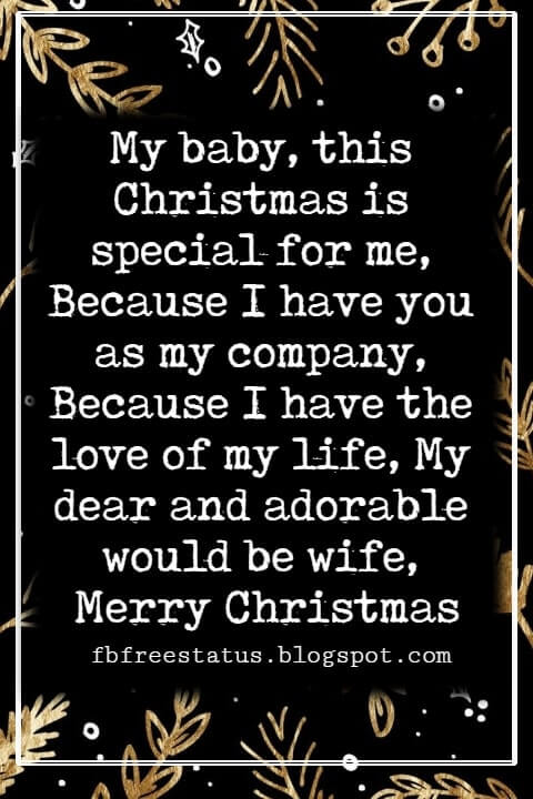 Merry Christmas Love Quotes & Messages with Images