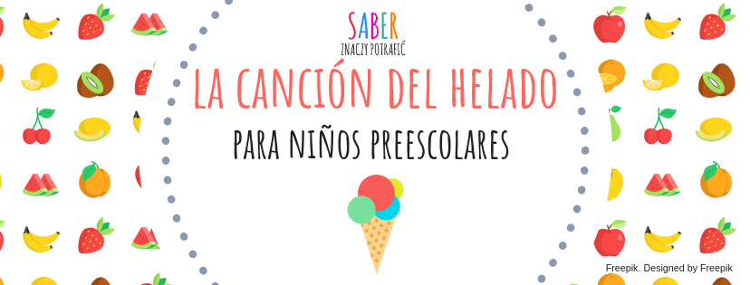 LA CANCIÓN DEL HELADO (para niños preescolares) | Piosenka o lodach (dla przedszkolaków)