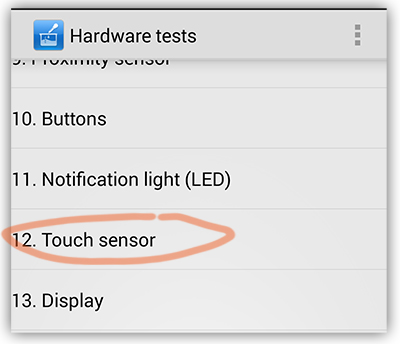 fix Touch Sensitivity on xiaomi mi3