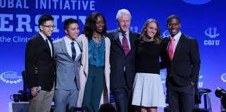 Clinton Global Initiative University for Exceptional Students and Young Leaders 2018