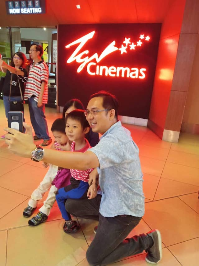 One of our challenges involved heading to TGV Cinemas at The Mines Shopping Mall