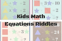 Kids Math Equations Riddles with Answers