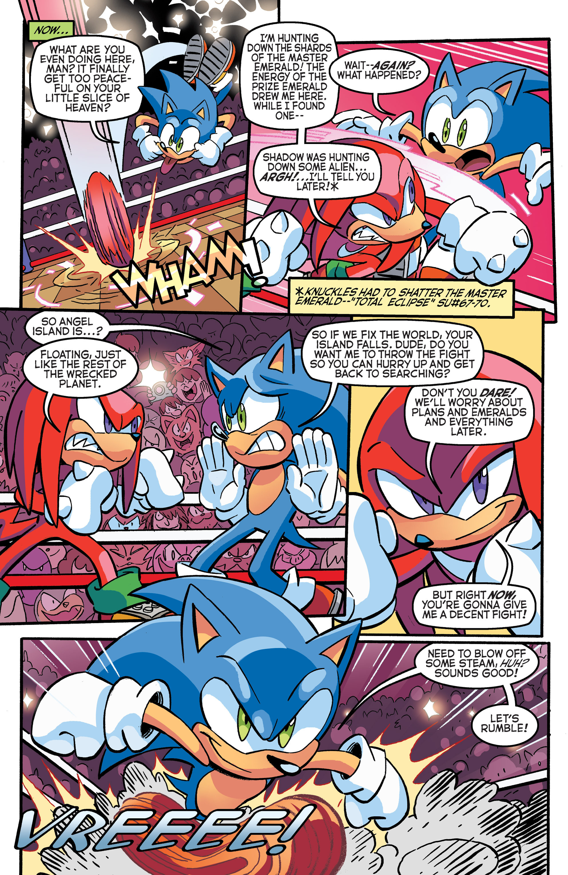 Read online Sonic The Hedgehog comic -  Issue #271 - 7
