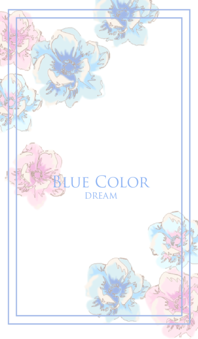 Blue color dream