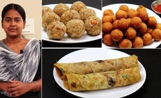 Snacks Recipes in Tamil மீதமான சப்பாத்தியில் 3 விதமான ரெசிபி இதுபோல செஞ்சி பாருங்க..