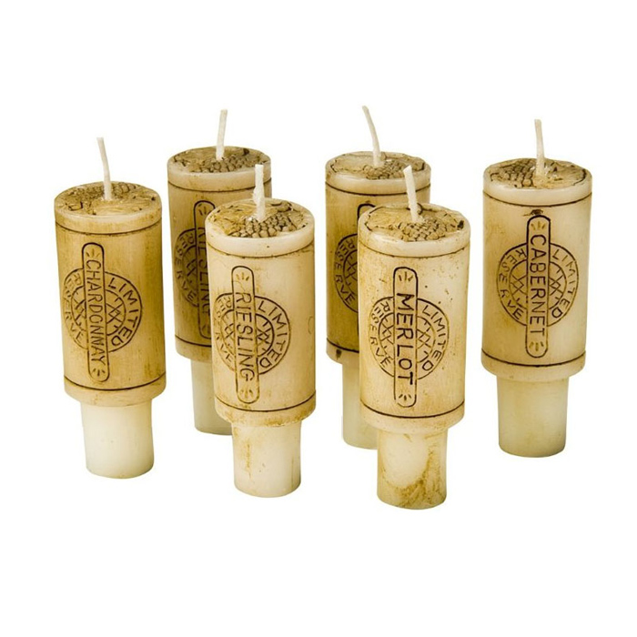 Cork Candles: Goldie Design: Centre Of Attention
