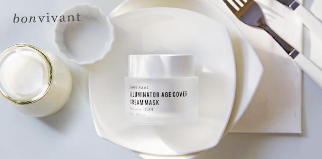 đánh giá Kem dưỡng trắng Bonvivant Illuminator Age Cover Cream Mask