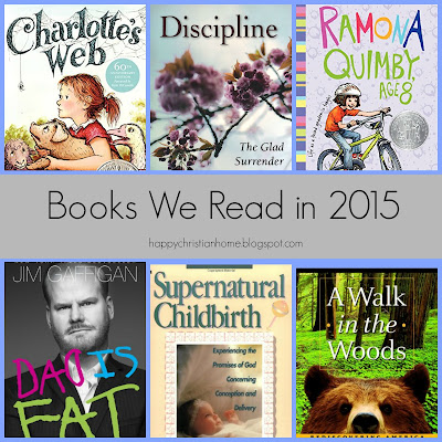 Happy Christian Home: Books We Read in 2015