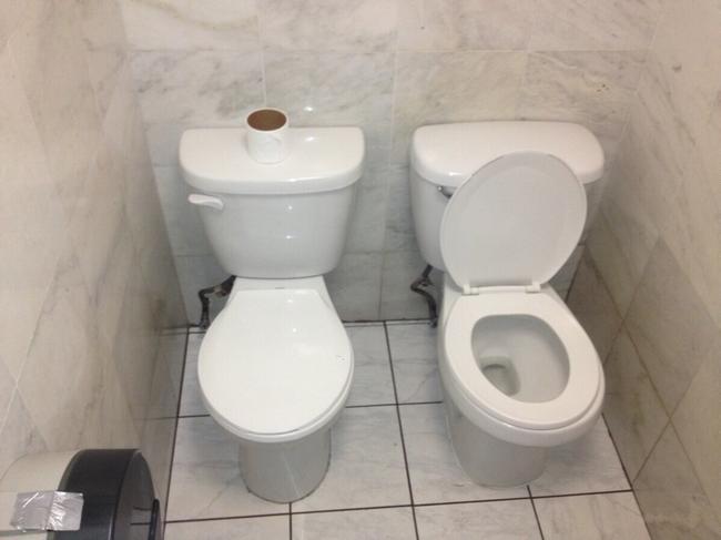 12 casas de banho feitas pelo Diabo