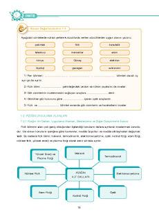 9. Sınıf Fizik Ders Kitabı Cevapları Tutku Yayınları Sayfa 18
