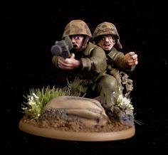 1/56 United States Marines Bazooka