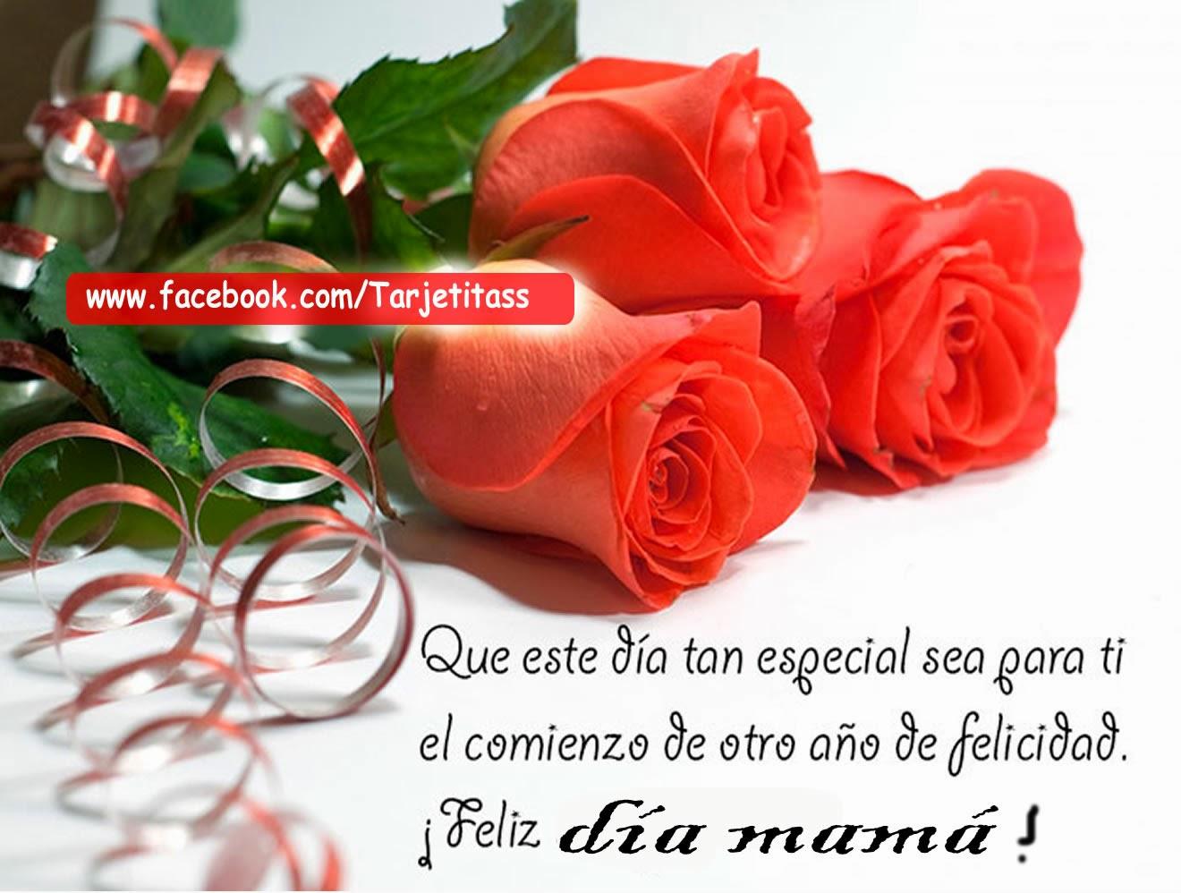 Feliz Dia Mama Tengo En Mi Madre Un Corazon De Oro En Su Sonrisa